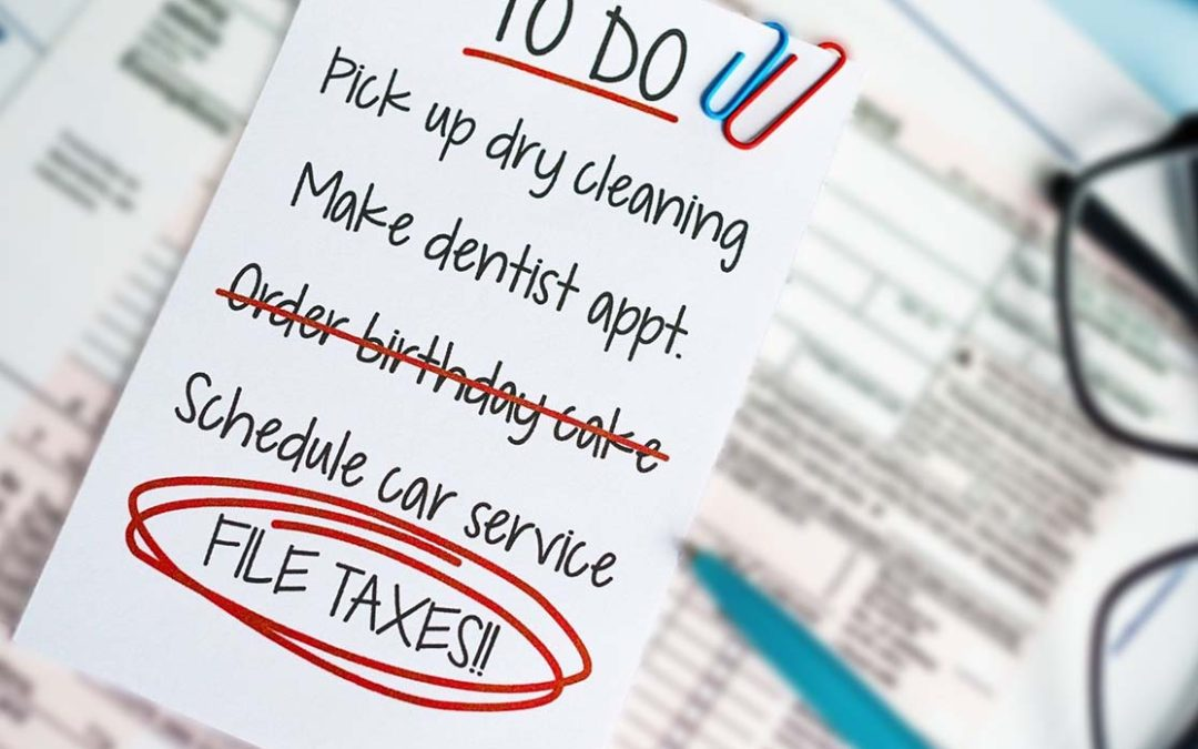 Five Things to do Before the End of the Tax Year